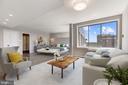 Tremendous MBR w/sitting area & windows on 2 walls - 10201 GROSVENOR PL #1701, NORTH BETHESDA