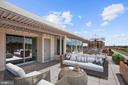 Private 1300 sq ft terrace w/3 wow views & sunsets - 10201 GROSVENOR PL #1701, NORTH BETHESDA