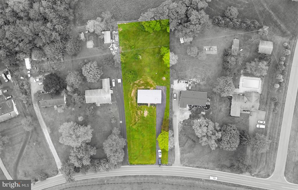 Estimated Property lines - 5239 REELS MILL RD, FREDERICK