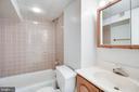 Full bath on lower level. - 116 S PITT ST, ALEXANDRIA
