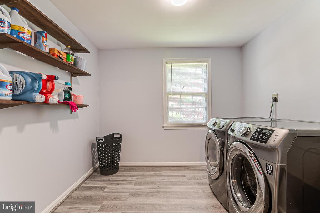 Lower level Laundry Room - 19029 THRESHING PL, GAITHERSBURG
