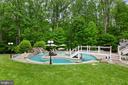 Pool, Water Fall & Island - 3722 HIGHLAND PL, FAIRFAX