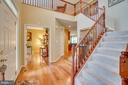 2 story foyer - 147 SANFORD FERRY CT, FREDERICKSBURG