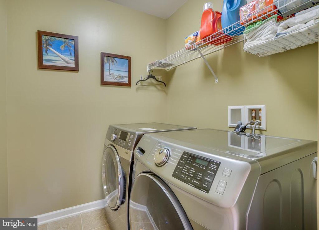 laundry upstairs - 147 SANFORD FERRY CT, FREDERICKSBURG