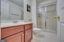 full bath downstairs - 147 SANFORD FERRY CT, FREDERICKSBURG