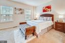 Master bedroom - 6464 WALCOTT LN, FREDERICK
