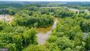 aerial view of water - 147 SANFORD FERRY CT, FREDERICKSBURG