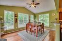 morning room with view - 147 SANFORD FERRY CT, FREDERICKSBURG