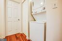 Stackable washer and dryer conveniently located - 10905 DEERFIELD DR, FREDERICKSBURG