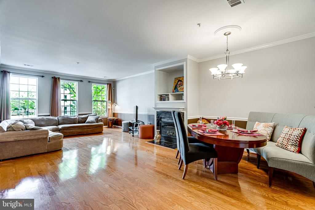 1st Floor - Dining/Living room - 2651 PARK TOWER DR #107, VIENNA