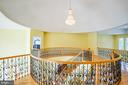Staircase view upstairs - 9649 LOGAN HEIGHTS CIR, SPOTSYLVANIA