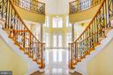 Stunning Foyer - 9649 LOGAN HEIGHTS CIR, SPOTSYLVANIA