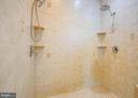 Master bath shower - 9649 LOGAN HEIGHTS CIR, SPOTSYLVANIA