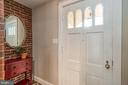 Front door opens to a  gracious Vestibule - 5000 27TH ST N, ARLINGTON