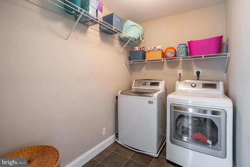 Laundry Room is on the upper level - 5000 27TH ST N, ARLINGTON