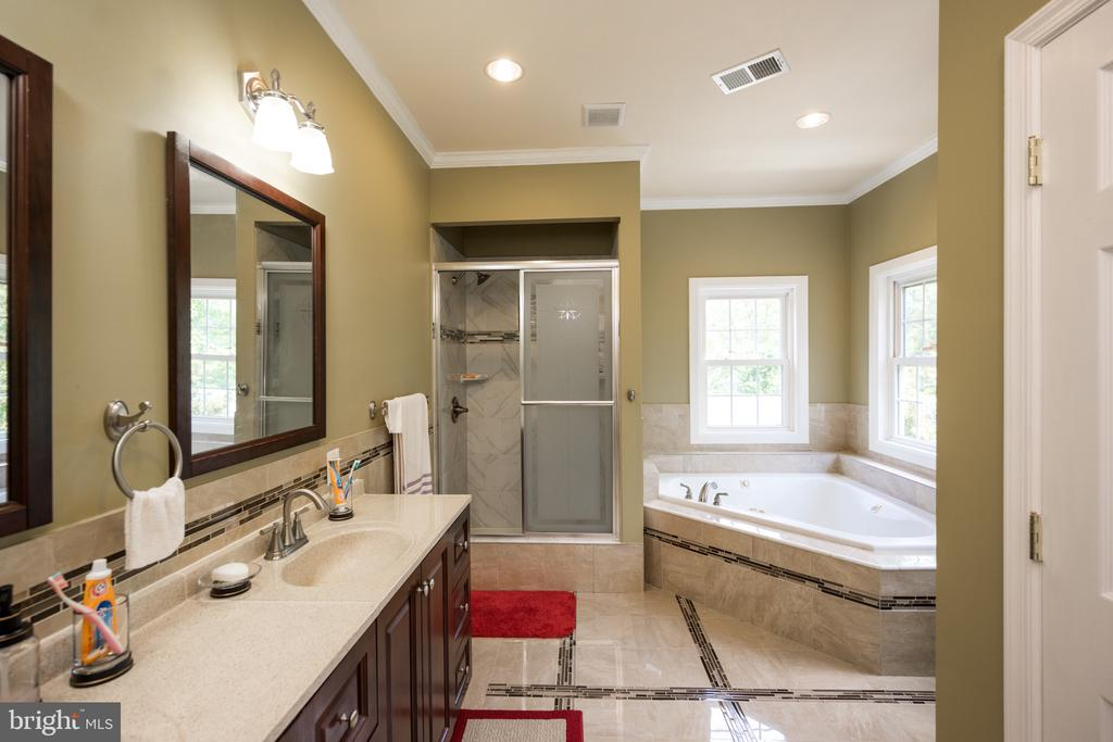 Master Bath - 6100 MUNSON HILL RD, FALLS CHURCH