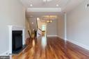 New Color for Combined Living & Dining Area - 1324 FAIRMONT ST NW #B, WASHINGTON