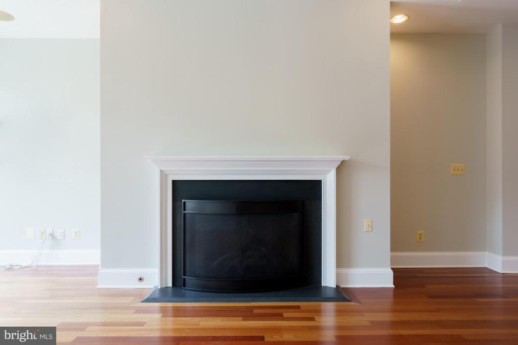 Natural Gas Fireplace - 1324 FAIRMONT ST NW #B, WASHINGTON