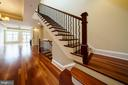 Brazilian Cherry Hardwood Flooring - 1324 FAIRMONT ST NW #B, WASHINGTON