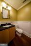 Half Bathroom - 1324 FAIRMONT ST NW #B, WASHINGTON