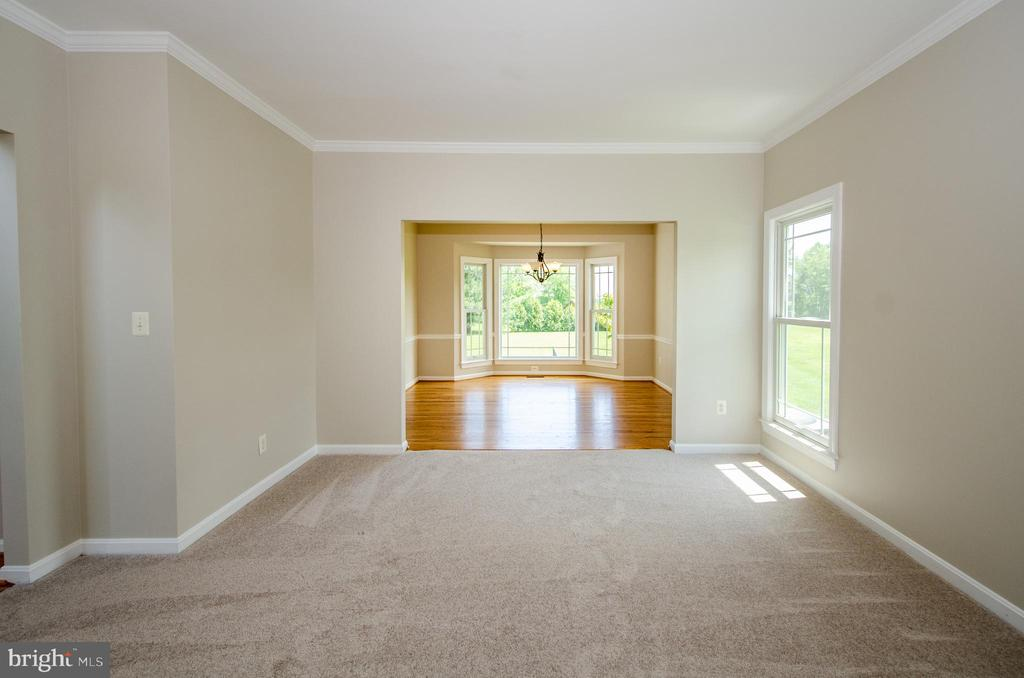 View from Living into Dining Room - 13652 MOUNTAIN RD, HILLSBORO