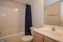 Full bath in Basement - 13652 MOUNTAIN RD, HILLSBORO