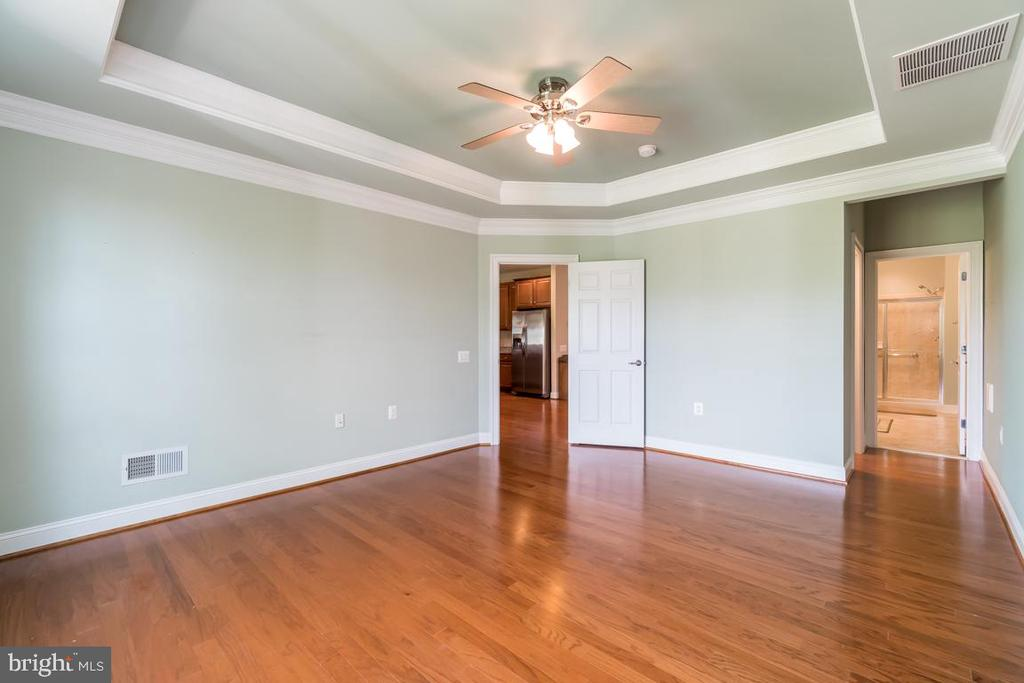 Gorgeous tray ceiling in the master bedroom - 20441 ISLAND WEST SQ, ASHBURN