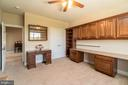 Perfect for office or crafting w/built-in cabinets - 20441 ISLAND WEST SQ, ASHBURN