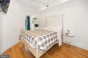 3rd Bedroom with ensuite Bath and Rear Terrace - 125 D ST SE, WASHINGTON