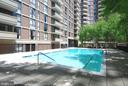 Outdoor pool - 4620 N PARK AVE #608W, CHEVY CHASE