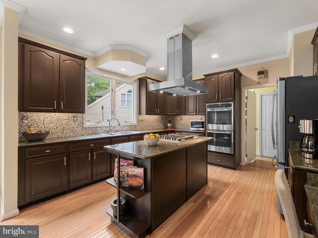 Gourmet kitchen - 1518 THURBER ST, HERNDON
