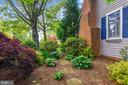 Extensive landscaping and mature trees - 1002 MOSS HAVEN CT, ANNAPOLIS