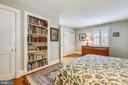 Built in bookshelves in Bedroom 2 - 1002 MOSS HAVEN CT, ANNAPOLIS
