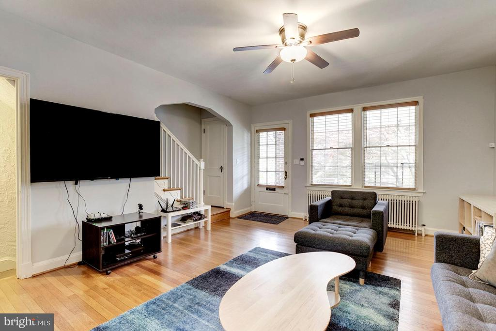 Living Room - 3719 W ST NW, WASHINGTON