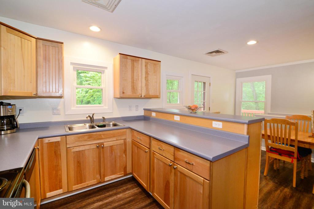 Plenty of Counterspace and Cabinets - 234 PINE CREST LN, BLUEMONT