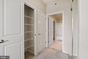 Closet - 11700 OLD GEORGETOWN RD #1113, NORTH BETHESDA