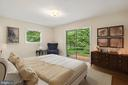 Mater bedroom Virtually Staged - 7413 SHENANDOAH AVE, ANNANDALE