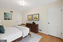 Bedroom #2 Virtually Staged - 7413 SHENANDOAH AVE, ANNANDALE