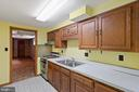 Lower level Kitchenette - 7413 SHENANDOAH AVE, ANNANDALE
