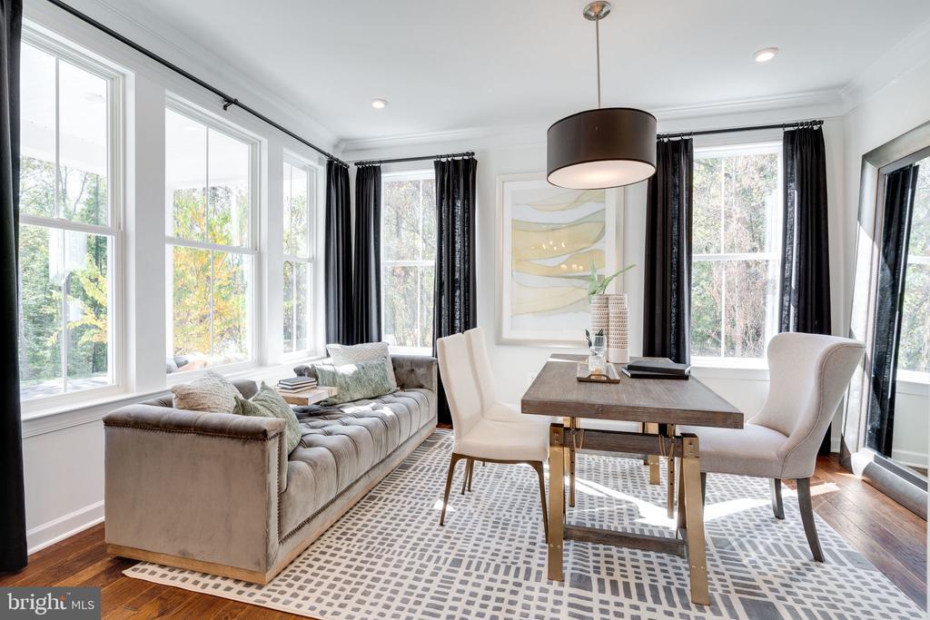 Living Room/office - 104 PENDER CT, FREDERICKSBURG
