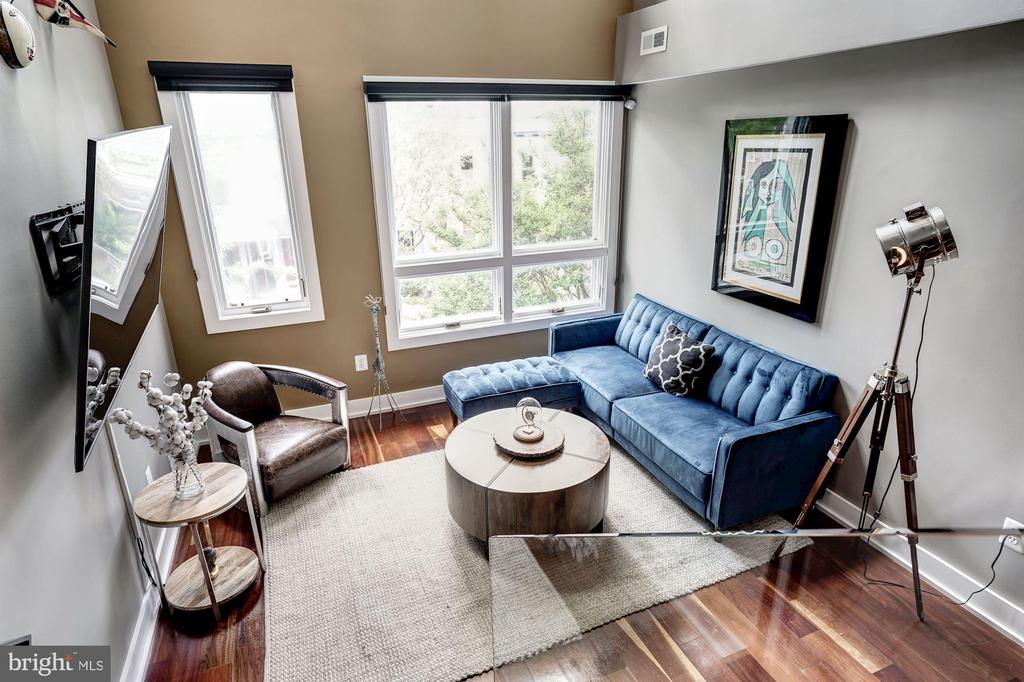 Living Room - 747 MORTON ST NW #2, WASHINGTON