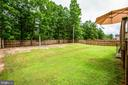 Fully Fenced Rear Yard - 35335 RIVER BEND DR, LOCUST GROVE