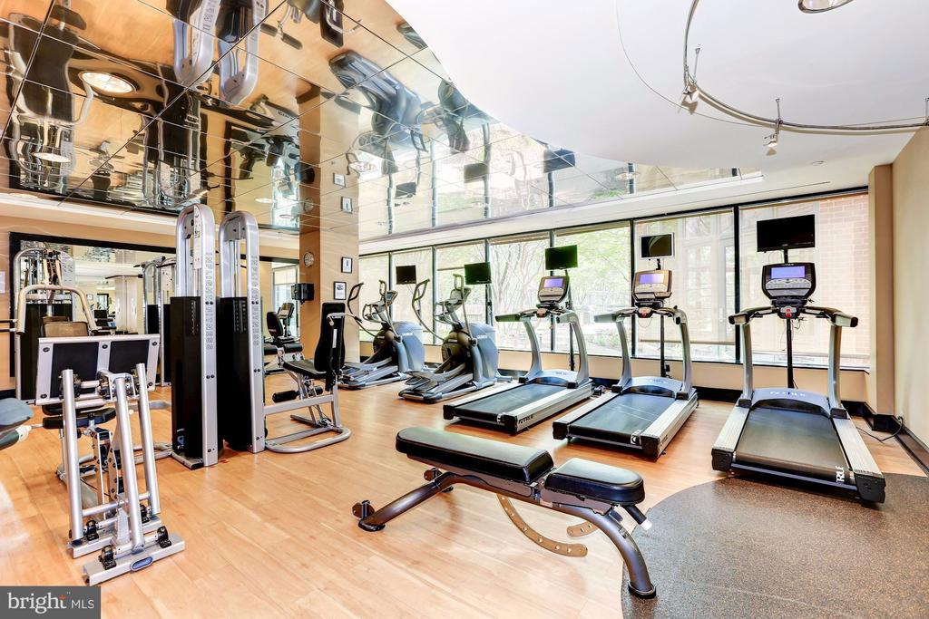 Fitness center - 11700 OLD GEORGETOWN RD #1113, NORTH BETHESDA