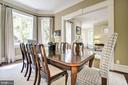 Dining Room - 1601 35TH ST NW, WASHINGTON