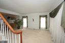 Living Room - 25782 AYTHORNE LN, CHANTILLY