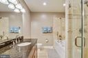 Master bathroom - a relaxing sanctuary - 1321 EUCLID ST NW #302, WASHINGTON