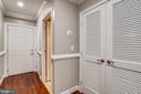 Foyer with storage - 1321 EUCLID ST NW #302, WASHINGTON