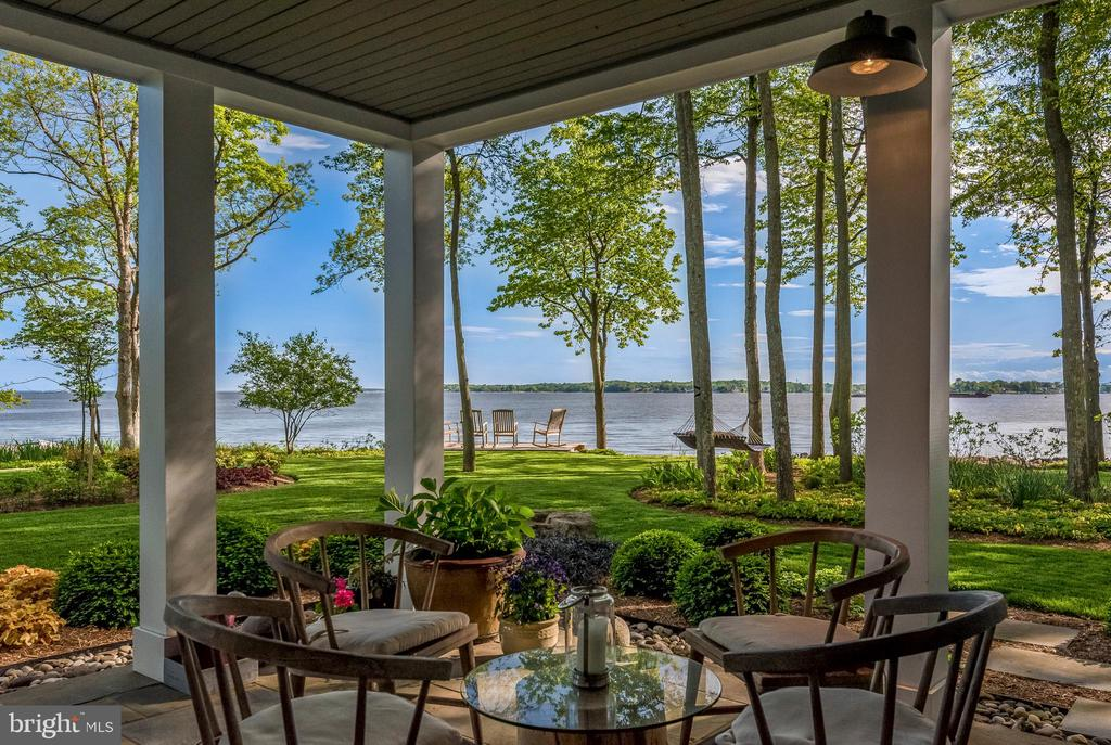 Lower Level Covered Deck - 1310 BEACHVIEW RD, ANNAPOLIS