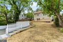 Backyard Steps to Car Park - 2705 HAMLIN ST NE, WASHINGTON