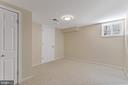 Bedroom 5:  Lower Level - 2705 HAMLIN ST NE, WASHINGTON
